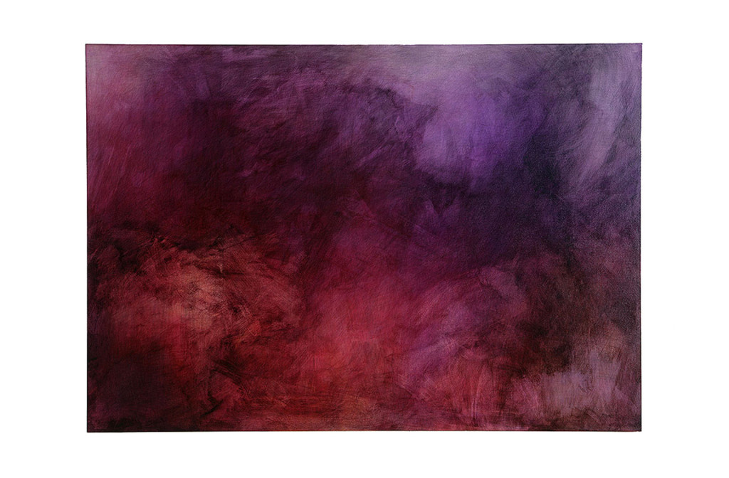 Pigmented ink on wood. 60 × 100 cm. Photo Armin Handschuh.