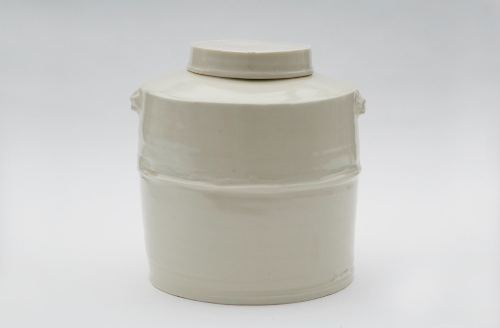 Jar, 1993. Porcelain.