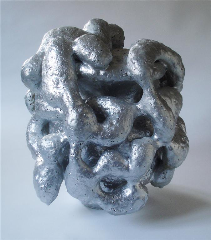 Object <em>Horror Vacui</em>, 2010. Ceramic, 45x40 cm