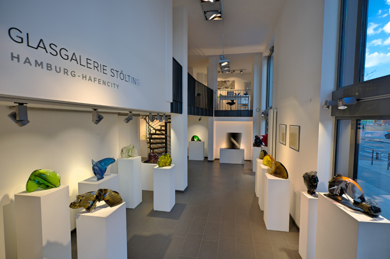 Bohumil Eliáš Jun. – Glass Sculptures & Paintings - Exhibitionrooms